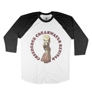 CCR Mardi Gras Baseball T-Shirt