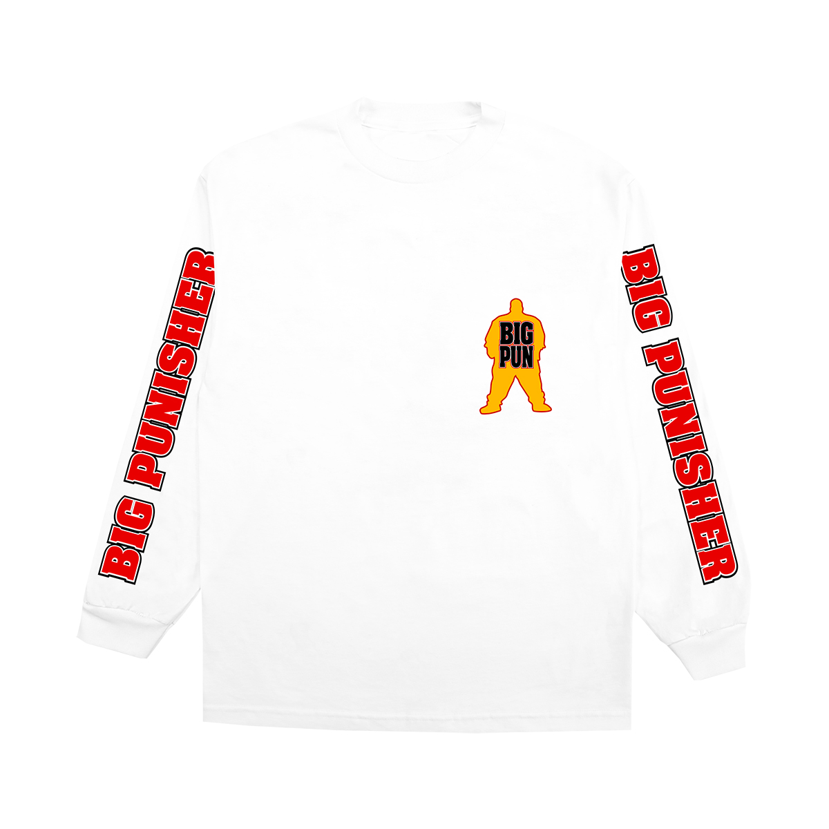 Big Pun Big Punisher Long Sleeve T-shirt