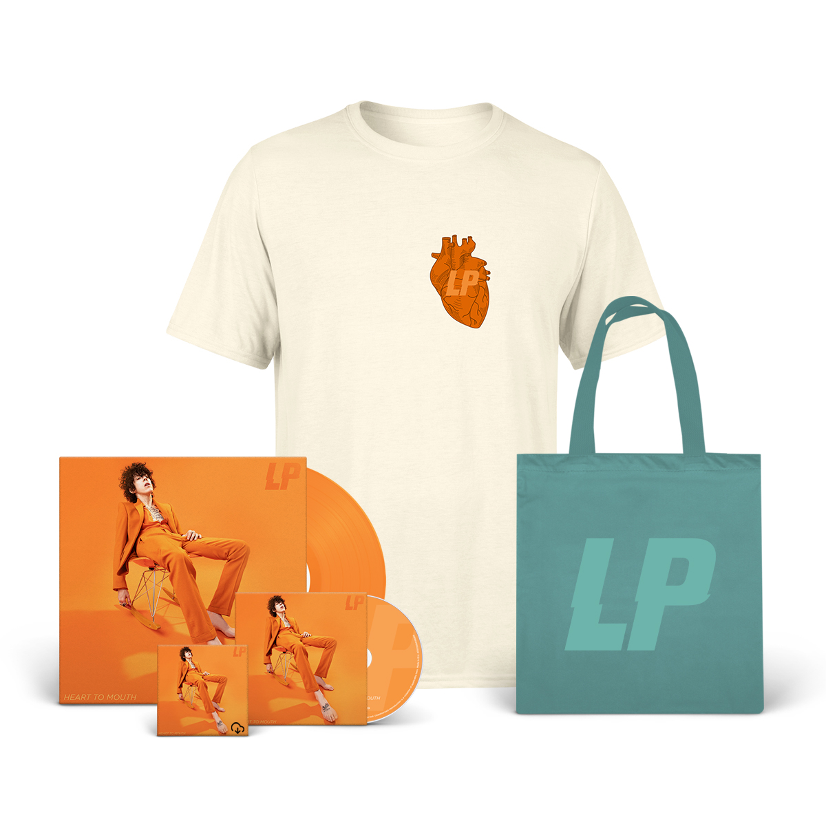 Heart to Mouth Album + Tee + Tote Bag