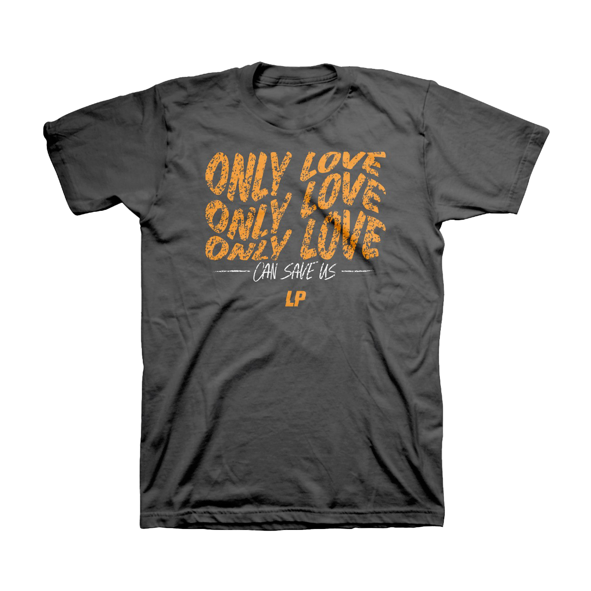 LP - Only Love Grey Unisex T-Shirt