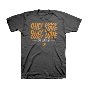 LP - Only Love Grey Unisex T-Shirt