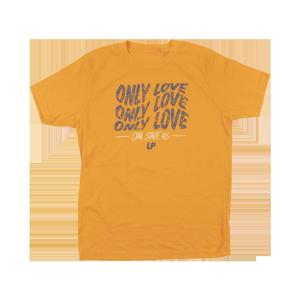 LP - Only Love ORANGE Kids Tee