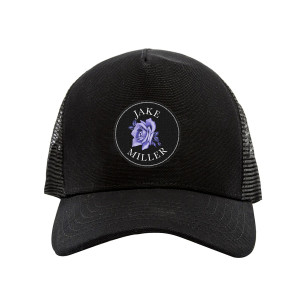 Purple Rose Dad Hat