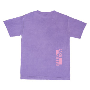 PURPLE FLOWER T-SHIRT