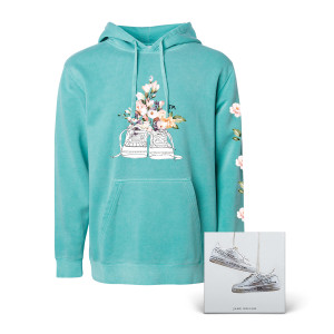 "MINT NIKES PULLOVER HOODIE + ""NIKES"" DIGITAL DOWNLOAD"