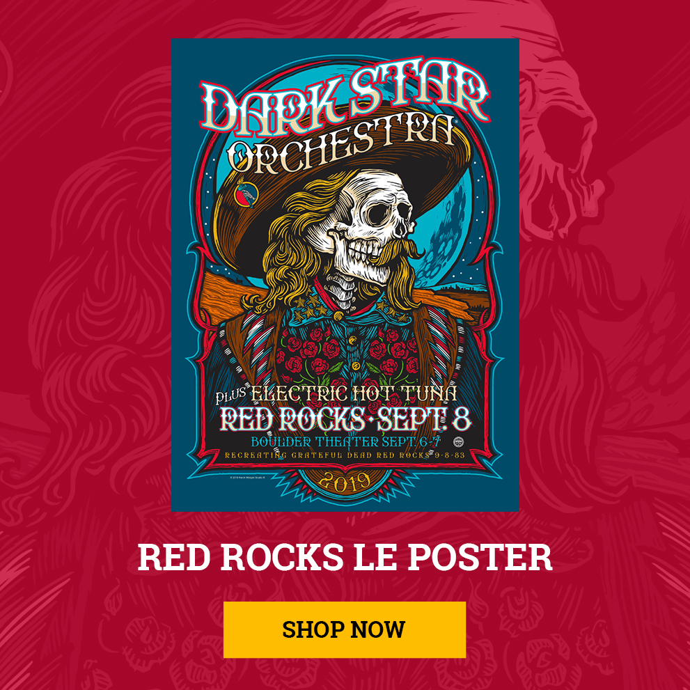 Red Rocks Limited Edition Poster