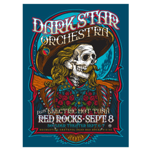 Red Rocks 2019 LE Poster