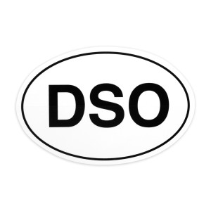 DSOval Sticker