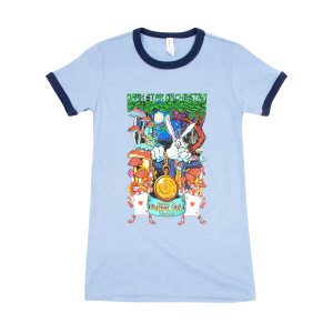 DSO Crazy Rabbit Ladies Ringer Tee