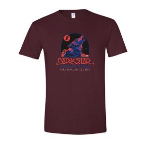 2021 Red Rocks Short Sleeve Tee Shirt Maroon