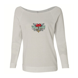 DSO Ladies Flying Heart French Terry Raglan
