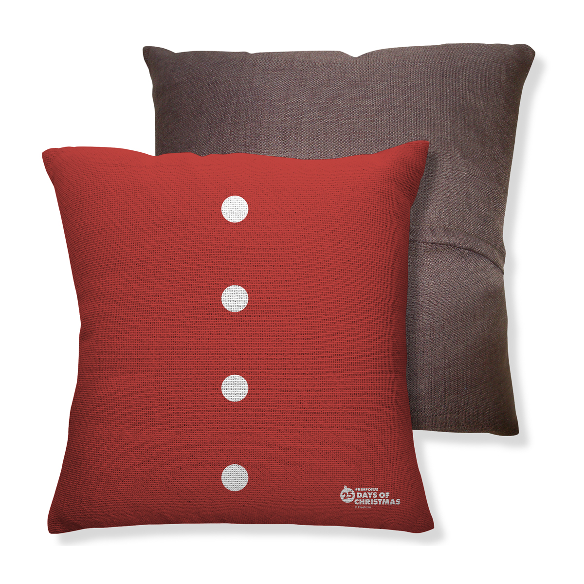 25 Days of Christmas Throw Pillow