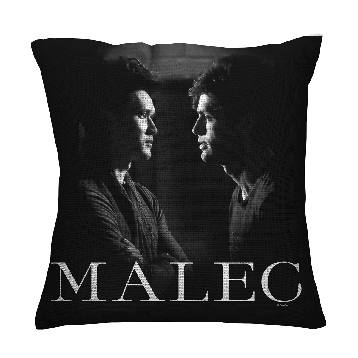 Shadowhunters Malec Throw Pillow (16x16)
