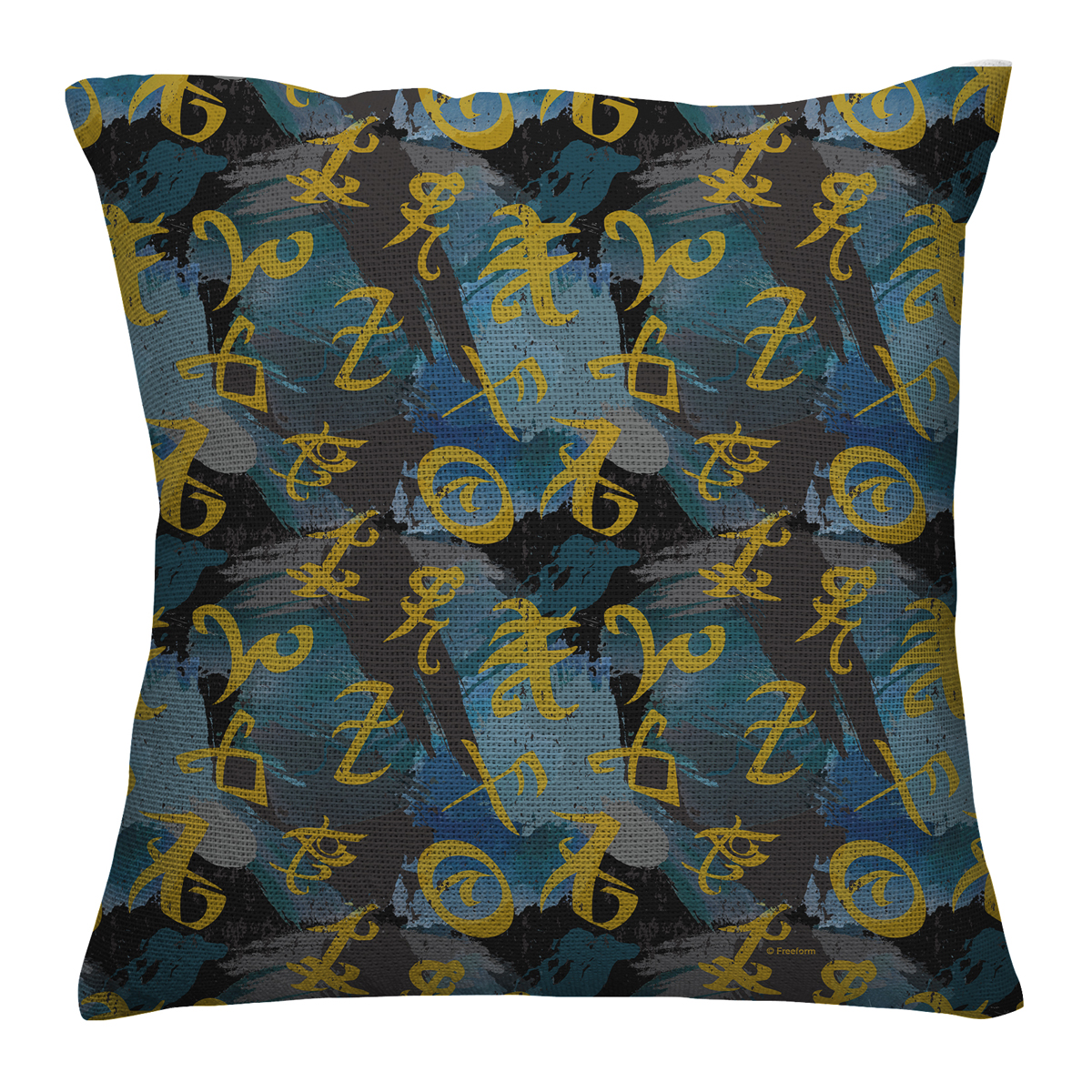 Shadowhunters Runes Allover Throw Pillow (16x16)