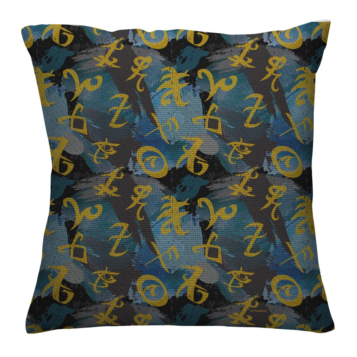 Shadowhunters Runes Allover Throw Pillow (16x16)