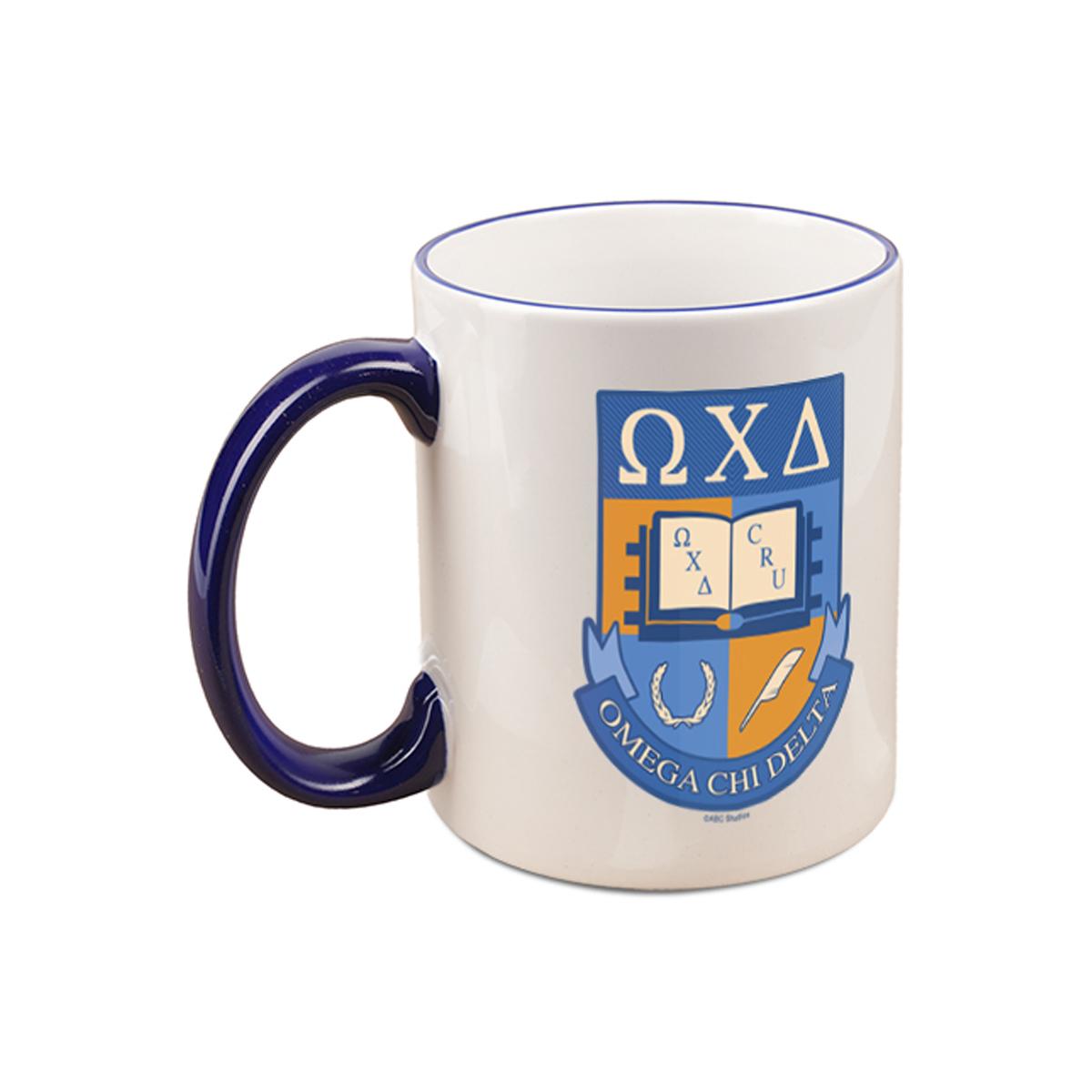 Greek Omega Chi Delta Mug