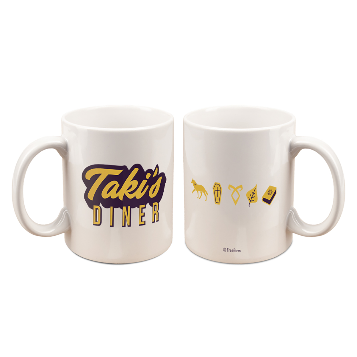 Shadowhunters Taki's Diner Mug (White)