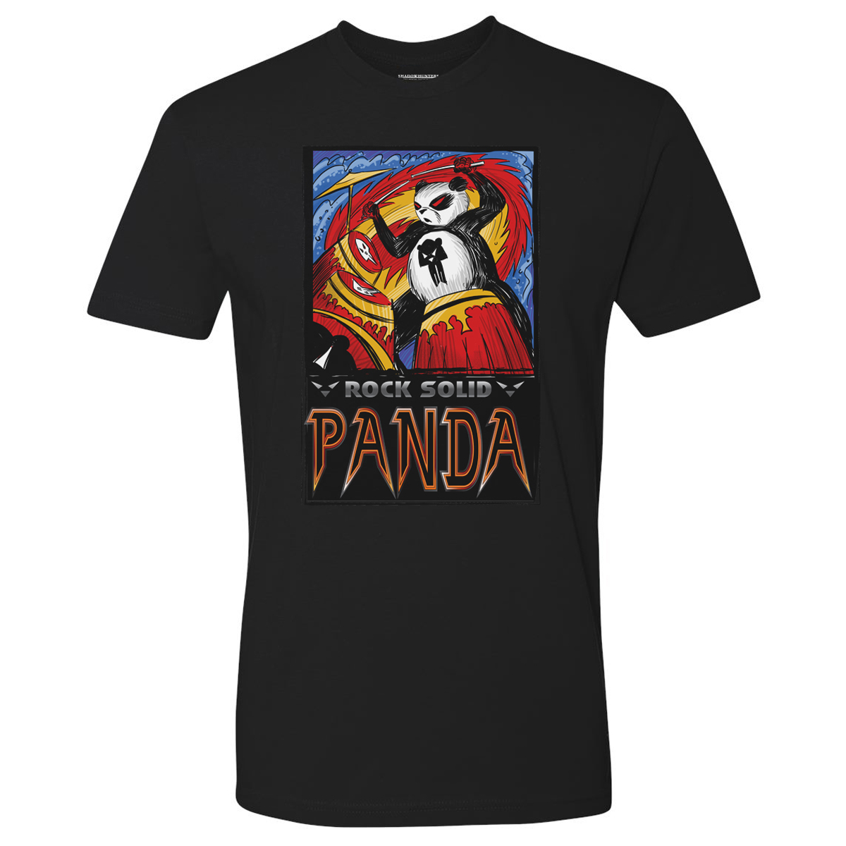 Shadowhunters Rock Solid Panda T-Shirt