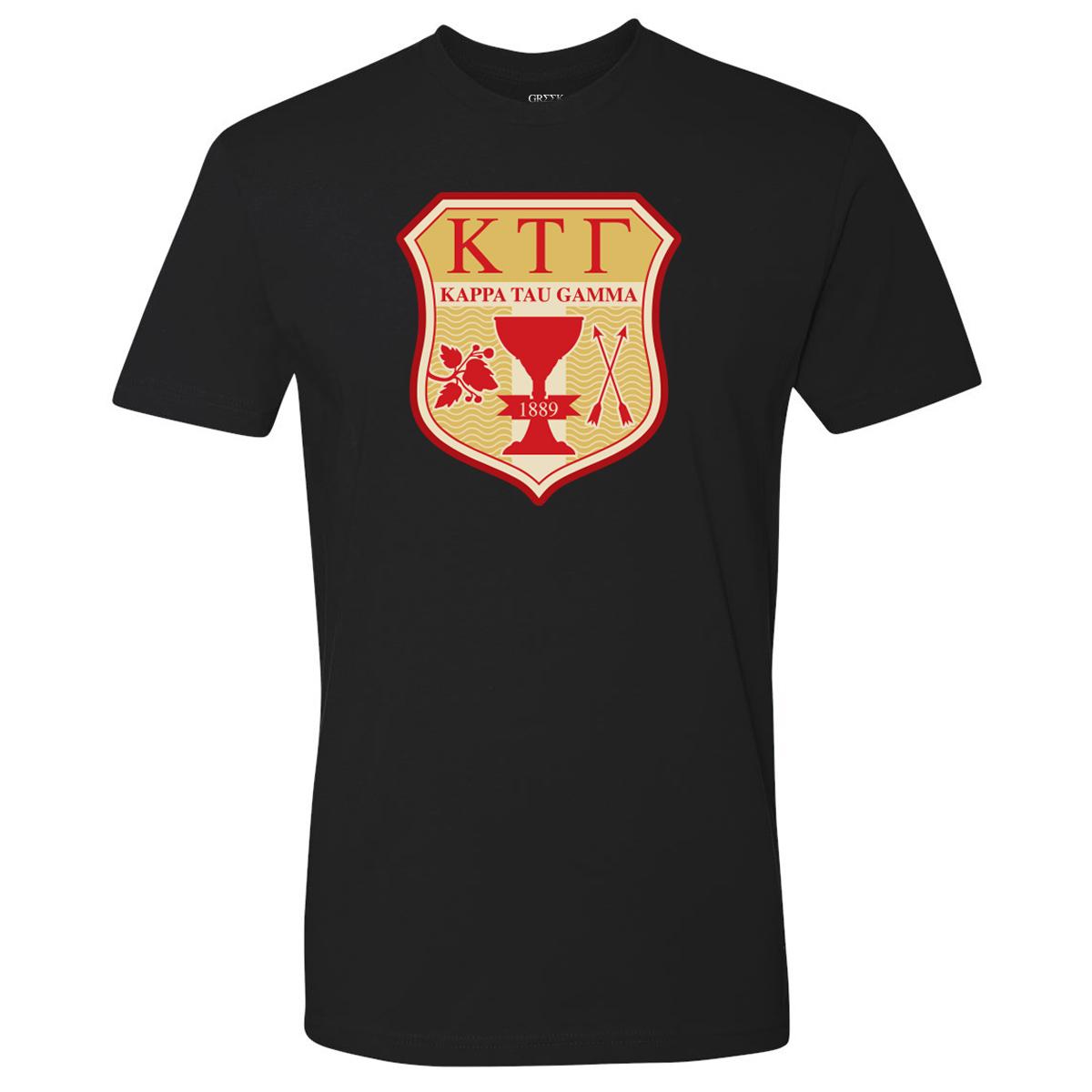 Greek Kappa Tau Gamma T-Shirt (Black)
