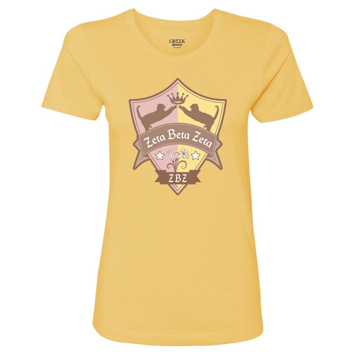 Greek Zeta Beta Zeta Women's T-Shirt