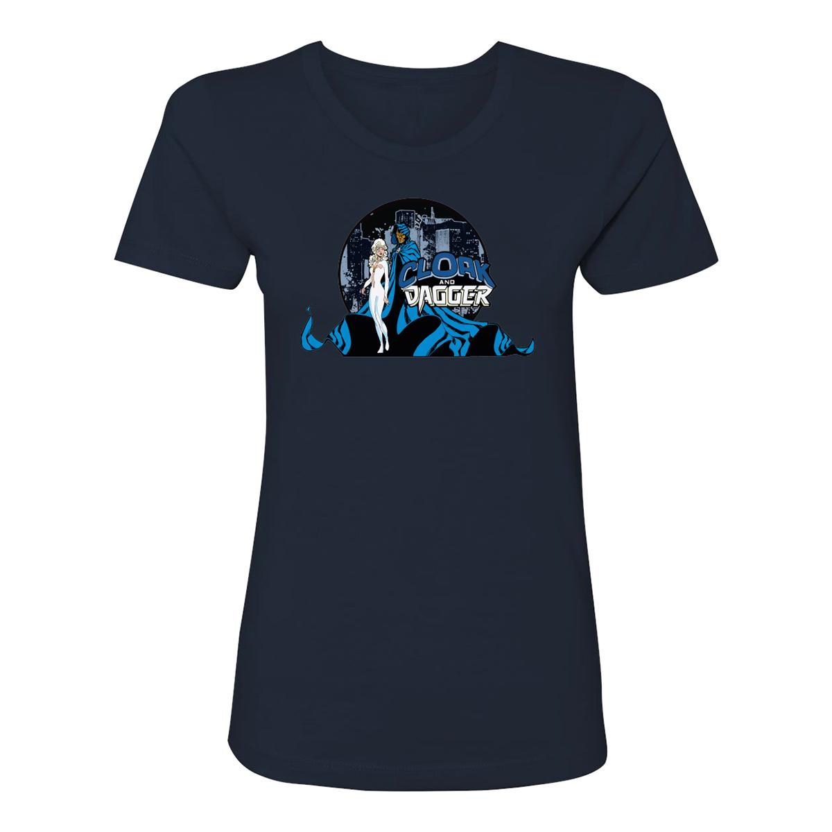 Marvel's Cloak & Dagger Comic Logo Women's T-Shirt