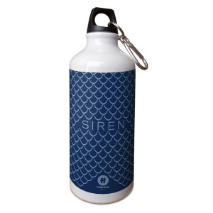 Siren Mermaid Scale Aluminum Water Bottle