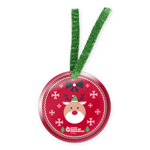 25 Days of Christmas Reindeer Ornament