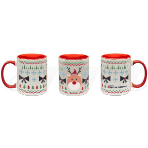 25 Days of Christmas Reindeer Mug