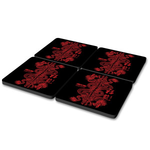 Shadowhunters Jade Wolf Coasters (Set of 4)