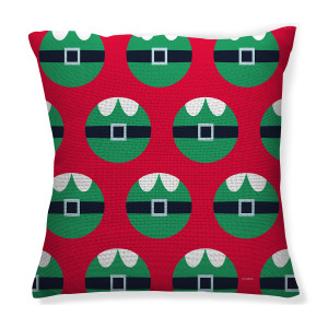 25 Days of Christmas Elf Throw Pillow (16x16)