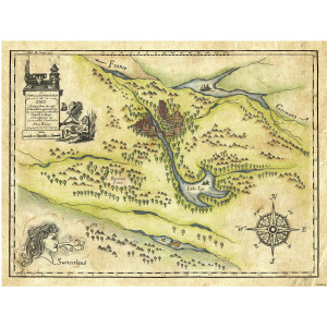 Shadowhunters Idris Map Giclee Print (18x24)