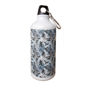 Shadowhuntes Runes Allover Symbol Aluminum Water Bottle