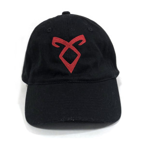 Shadowhunters Angelic Runes Symbol Baseball Hat (Black)