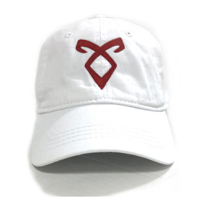 Shadowhunters Angelic Runes Symbol Baseball Hat (White)
