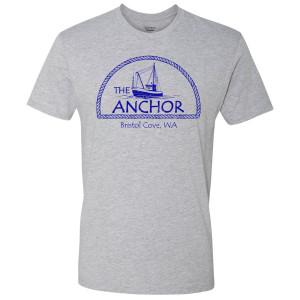 Siren The Anchor T-Shirt (Grey)
