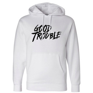 Good Trouble Logo Pullover Hoodie