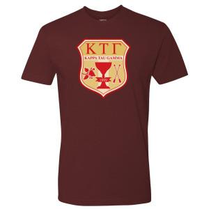 Greek Kappa Tau Gamma T-Shirt (Maroon)