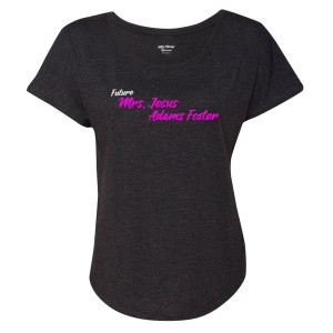 Good Trouble Future Mrs. Women's Dolman T-Shirt