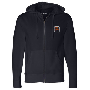 Good Trouble Speckulate Zip Up Hoodie (Navy)