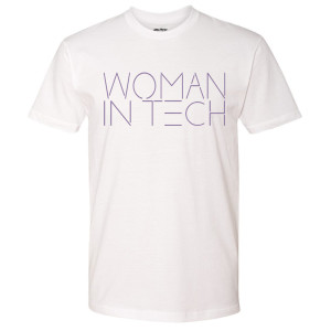Good Trouble Woman In Tech T-Shirt