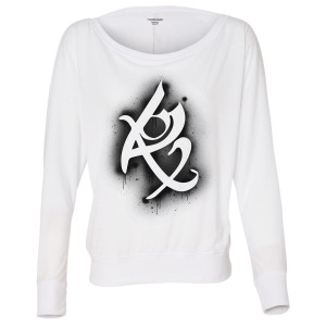 Shadowhunters Fearless Rune Women's Flowy Long Sleeve T-Shirt