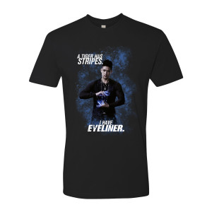 Shadowhunters Eyeliner T-Shirt (Black)