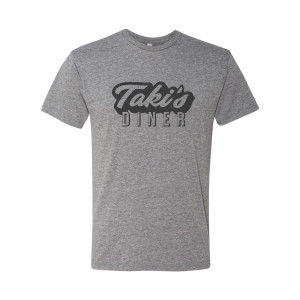 Shadowhunters Taki's Diner T-Shirt (Heather Grey)