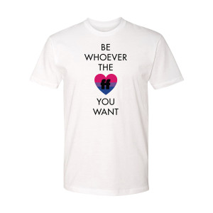 Be Whoever the FF T-Shirt Bi Pride