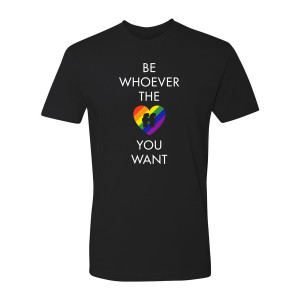 Be Whoever the FF T-Shirt Gay Pride