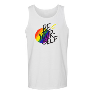 Be Yourself Tank Gay Pride