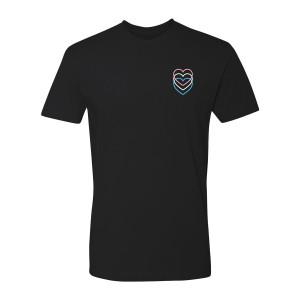 Hearts T-Shirt Trans Pride