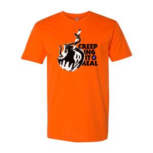 31 Nights of Halloween Creeping T-Shirt (Orange)