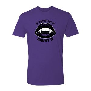 31 Nights of Halloween Haunt It T-Shirt (Purple)