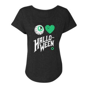 31 Nights of Halloween I Love Halloween Dolman (Vintage Black)